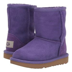 NWT UGG Classic II Toddler Boot Violet Bloom - 6